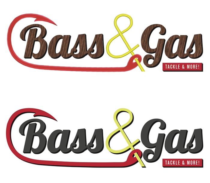 Bass & Gas Logo
