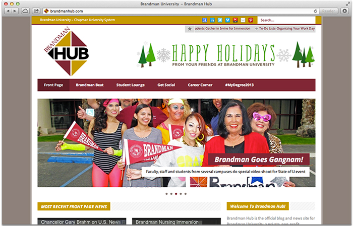 BrandmanHub.com Screenshot