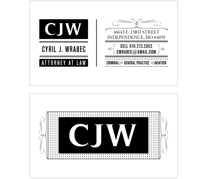 Cyril Wrabec Business Card