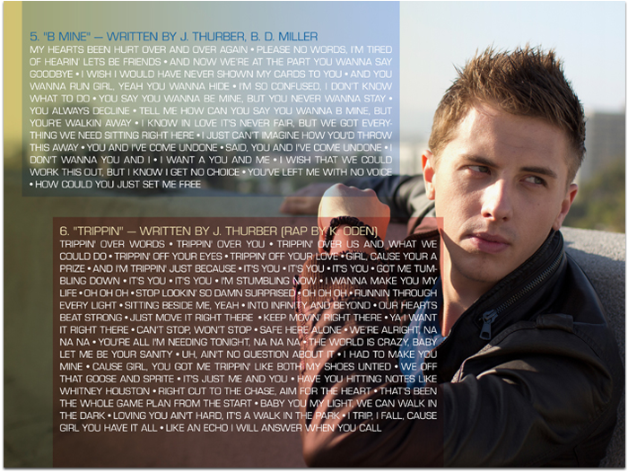 Jeremy Thurber Digital Booklet