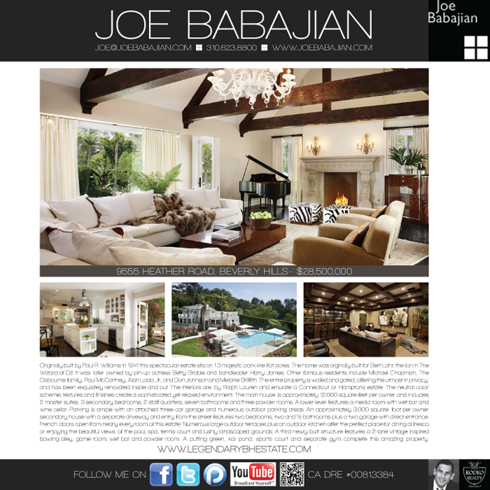 Joe Babajian Advertisement